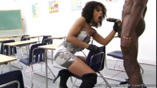 Teacher Misty Stone Gets A Lesson in Fucking
