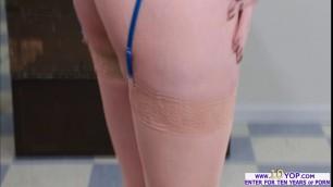 Lesbian Darcie Dolce licks Violet Starr wet pussy