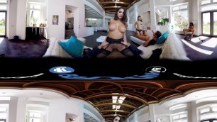 BaDoink VR Amazing Group Sex A 360 Experience VR Porn