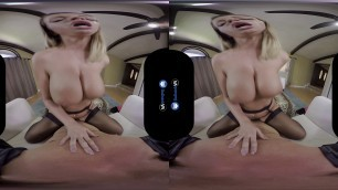 BaDoink VR Busty Brooklyn Chase Collects Her Cummission VR Porn