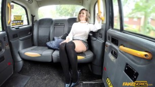 Spanish babe Betty Foxxx with great sexy body fucked in the backseat