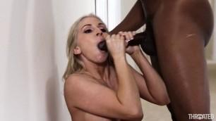 Throated Christie Stevens Hot Christie Downs A Huge Ebony Dick