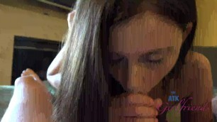 Atk Girlfriends Whitney Westgate Wife Gives Hand Job