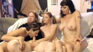 Brother Sisters Orgy Party - Watch in 4K HD at 4KCAMZ.COM