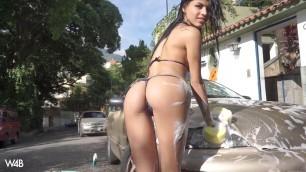 Denisse Gomez Car Wash Very Nice Sex