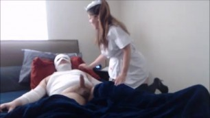 Busty Mommy Nurse