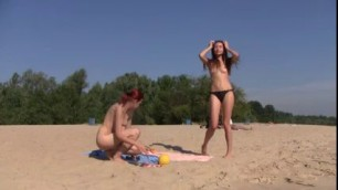 Youngs Nudist On the Beach