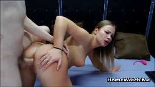 Hardcore Teenage Girlfriend Deepthroat And Anal Fucked