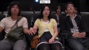 DVDES 866 Japanese stewardess fucks with a passenger on the plane