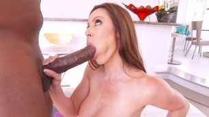Kendra Lust Mandingo Stunning woman fucks with a black man