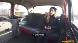 Hot teen Angel Emily sucks and fucks taxi drivers cock