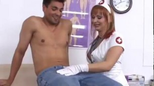 Kinky nurse Katja Kassin gets rammed by her patient
