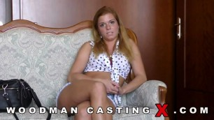 Chrissy Fox fucks with two men on casting Updated Casting X