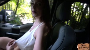 Alluring babe Jessie Wylde takes a strangers bigcock