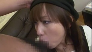 Exotic Japanese model Mika Osawa in Incredible Handjobs Fingering