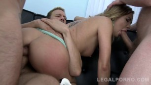 Awesome Woman Lexy Star Incredible Double Vaginal