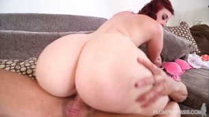 Amazing Redhead Virgo Peridot PAWG Jogging For Dick