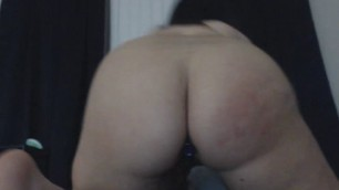 Beautiful Big Tits Chick Fucks Her Cunt