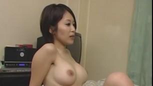 Exotic Japanese model Saki Ootsuka in Amazing Big Tits Masturbation Sex clip