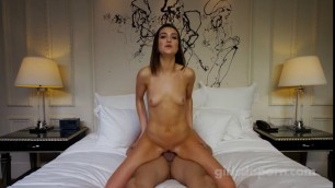E362 19 Years Old Horny girl wants to start in first porn ever