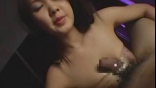 Exotic Japanese Big Tits girl Mai Kaoru in Incredible Blowjob
