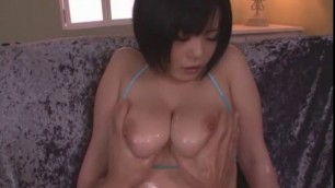 Hottest Japanese chick in Incredible Big Tits Awesome Blowjob