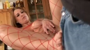 She makes him suck on her feet and worship her Sexual body