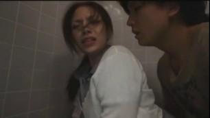 Exotic Japanese model Mako Oda in Best Public Couple Sex movie