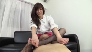 Incredible Japanese girl in Amazing Stockings Ass Sex clip