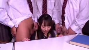 Exotic Japanese slut Ruka Kanae in Fabulous Small Tits Blowjob