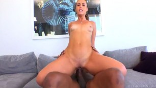 Approachable Kelsi Monroe Shakes Her Booty For Black Cock