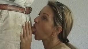 The craftsman helped Blonde Sucks Dick Fucks