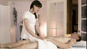 Ts Natalie Mars hot massage sex with Chad
