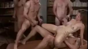 Amazing Girl Brut gangbang team fck BDSM Gangbang