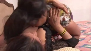 Full of girls in bed Top Indian Desi lesbian video