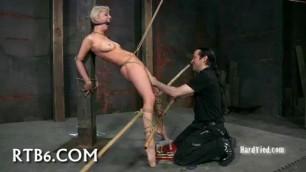 Sexual punishment Depraved Blonde Abigaile Fetish Hard sex