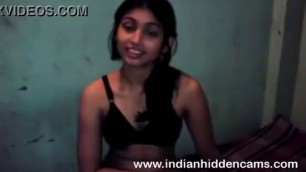Cute Indian teen first time Amalia young girl takes his cock