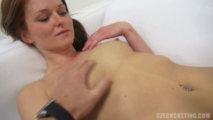 CzechCasting E0501 ADELA 4289 her sweet young face covered in freckles