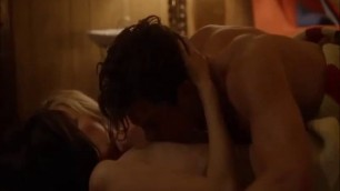 MALIN AKERMAN AND KATE MICUCCI NUDE HOT LESBIAN SEX SCENE FROM EASY