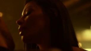 Gabriella Wilde nude Cassandra Cruz nude sex scene Squatters 2014