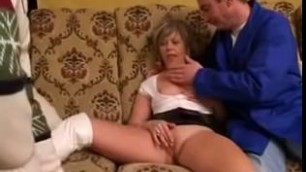 Best French scene with Mature Blonde Shaved scenes
