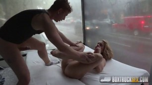 BoxTruckSex Brittany Bardot good fuck Forgets about her Boyfriends Absense
