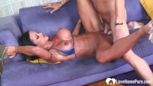 She just loves when he fucks her as hard as he can after some oral