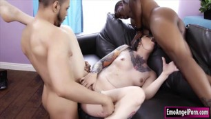 Taurus gets her ass and pussy fucked