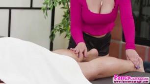Slutty latina Ella Knox strokes and sucks a bigdick