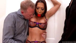Tied up and raped Rachel Starr