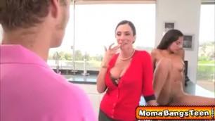Teen boyfriend mom porno bang sex orgy milf mature Cum Shot