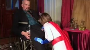 cosplay porn super heroine with big tits and ass fucks the king