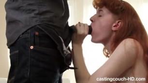 Amateur pussy and ass redhead slut stuffed passionate black shlong