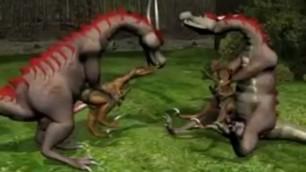 Hot Dino SEX 3D